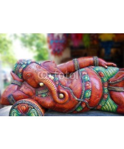 AJITH.A, A statue of an Indian god, Lord Ganesha
