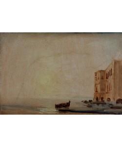 Karl Blechen, Sonne über dem Meer