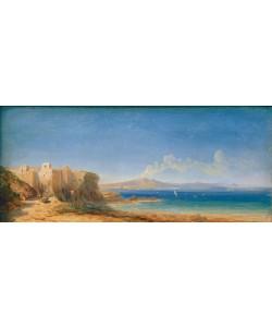 Karl Blechen, Der Golf von Neapel