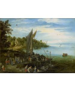 Jan Brueghel der Ältere, Flussufer