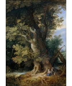 Jan Brueghel der Ältere, Ruhe auf der Flucht nach Ägypten