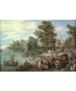 Jan Brueghel der Ältere, Landungsplatz