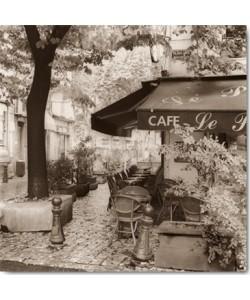 Alan Blaustein, Café, Aix-en-Provence