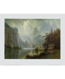 Albert Bierstadt, Im Gebirge