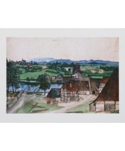 Albrecht Dürer, Drahtziehmühle