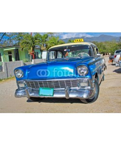 Aleksandar Todorovic, Classic Chevrolet on January 20,2010 in Santiago de Cuba.
