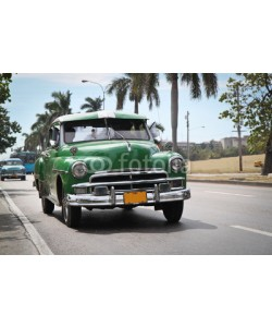 Aleksandar Todorovic, Classic green Plymouth in new Havana