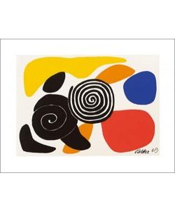 Alexander Calder, Spirals and Petals, 1969 (Büttenpapier)