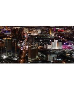 Alexander, Las Vegas at night panorama