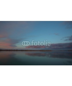 Alexandr Vlassyuk, Sunset panorama on the river