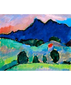 Alexej von Jawlensky, Blauer Berg