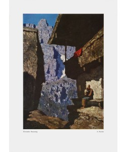 Alfons Walde, Einsame Hausung