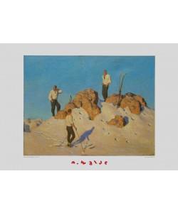 Alfons Walde, Gipfelrast am Pengelstein