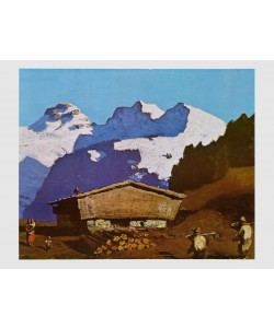 Alfons Walde, Tiroler Bergbauernhof