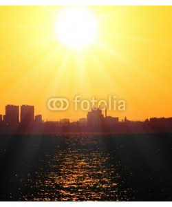 alma_sacra, Skyline Panorama Sun Rising