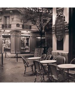 Alan Blaustein, Café, Montmartre