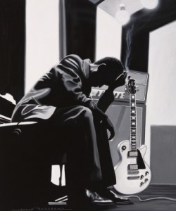 Alain Bertrand, Pause in the Studio