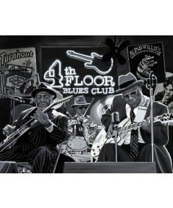 Alain Bertrand, Blues Trio