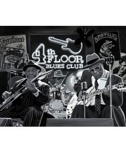 Alain Bertrand, Blues Trio