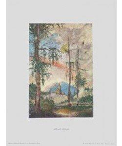Albrecht Altdorfer, Landschaft mit Kirche