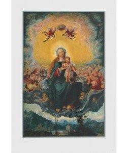 Albrecht Altdorfer, Maria mit dem Kinde in der Glorie