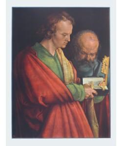 Albrecht Dürer, Johannes und Petrus (Ausschnitt aus 4 Apostel)