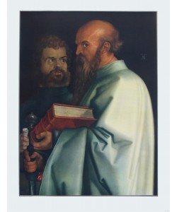 Albrecht Dürer, Paulus und Markus (Ausschnitt aus 4 Apostel)