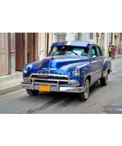 Aleksandar Todorovic, Classic Oldsmobile  in Havana.