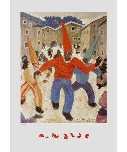 Alfons Walde, Die Fastnacht - Karneval