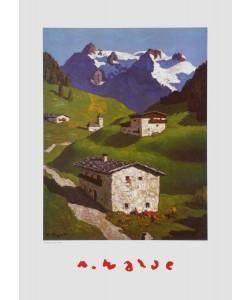 Alfons Walde, Frühling in Tirol