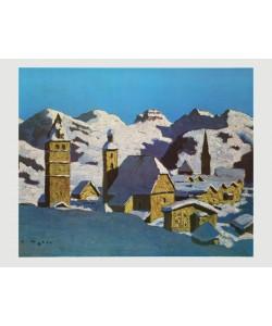 Alfons Walde, Kitzbühel im Winter