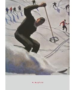 Alfons Walde, Kristiania - Der Schwung (groß)