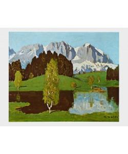 Alfons Walde, Schwarzsee bei Kitzbühel