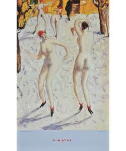 Alfons Walde, Tanzende im Schnee