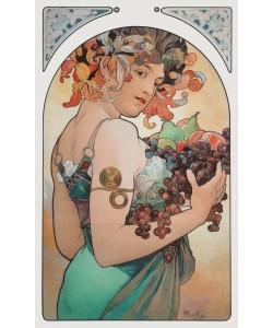 Alphonse Maria Mucha, Früchte - Fruit, 1897
