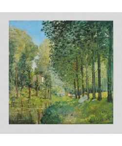 Alfred Sisley, Rast am Ufer des Ruisseau, 1872