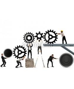 alphaspirit, Teamwork of businesspeople