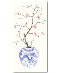 Gabby Malpas, Blue Porcelain Cherry Blossom