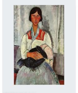 Amedeo Modigliani, Zigeunerin mit Baby