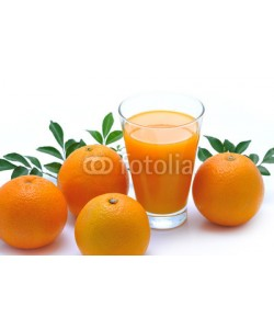 amenic181, Glass of orange juice and orange