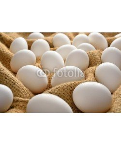 amenic181, white eggs on burlap