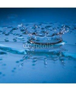 Amir Kaljikovic, Wassertropfen eingefroren