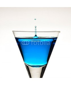 Andreas Berheide, Blue ocktail with droplets