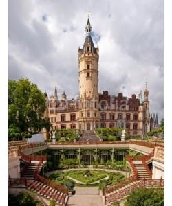 Andreas Fischer, Castle in Schwerin