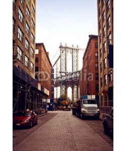 Andrew Bayda, Manhattan bridge from Washington street