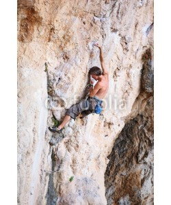 Andrey Bandurenko, Rock climber on a cliff