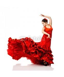 Andy-pix, young woman dancing flamenco