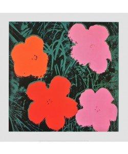 Andy Warhol, Flowers I