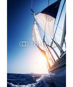 Anna Omelchenko, Sail boat in action