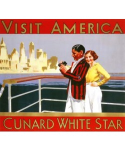 Anonymous, Visit America, Cunard White Star